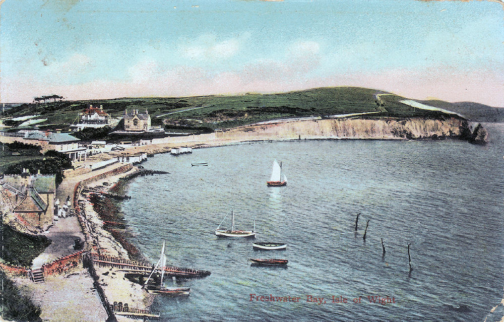 A view looking east from 1908.