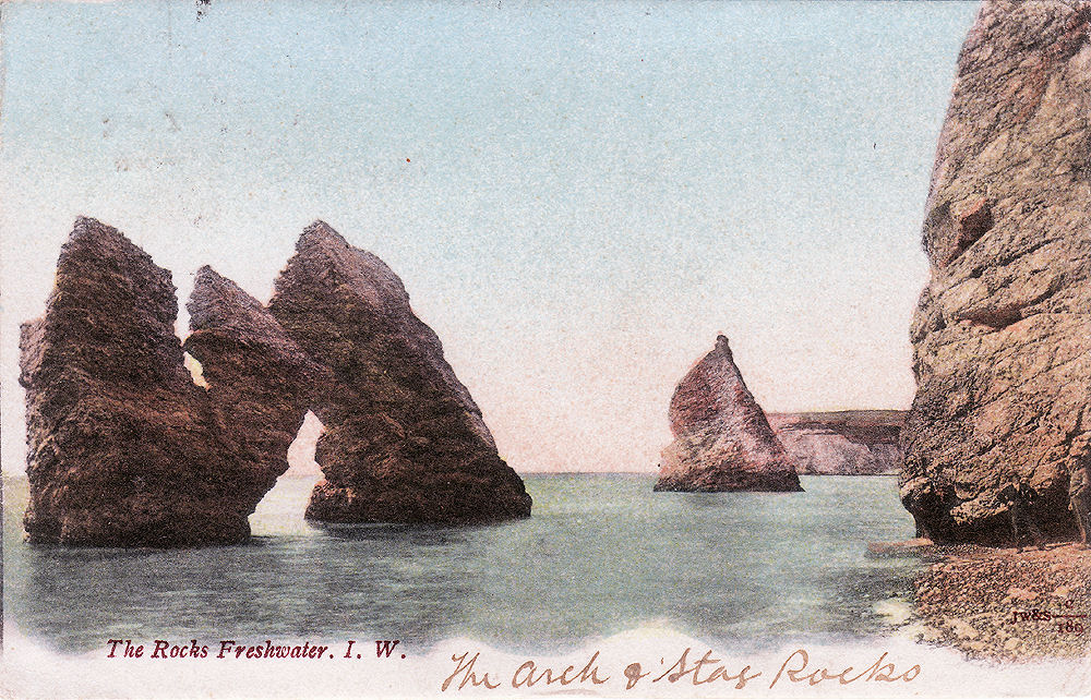 The Arch and Stag  rocks 1903.