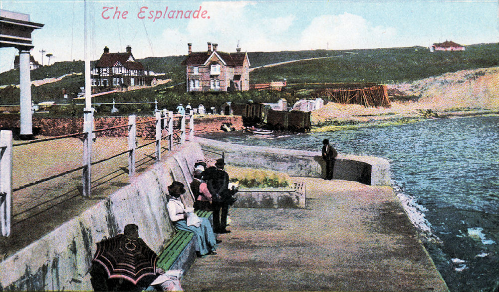 Freshwater Bay Esplanade around 1910.