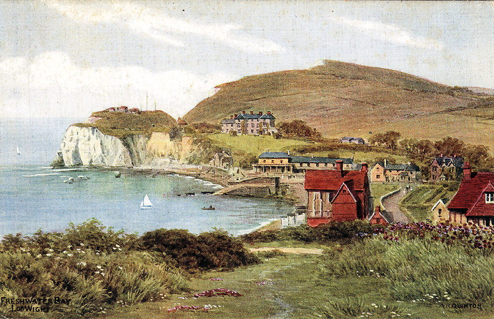 An artists (A R Quinton) view of the Bay
